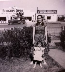 I think this was taken in front of my Great-Grandmother Bateman's house in Tucson, Az. in 1950.