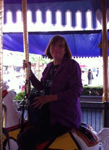 I rode the Carousel...twice!