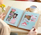 "New ""My Crush"" album and embellishments would make a great ""girlie"" gift!"