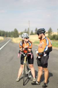 Greg and Jenny Zeroun have spent their summer bicycling across America building houses for those in need.