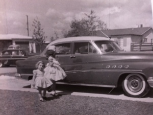 The Big Buick, Easter 1957, Melody and Fawn
