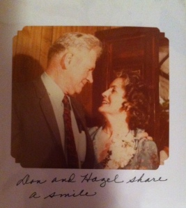 This one is from my wedding day, June 13, 1981.