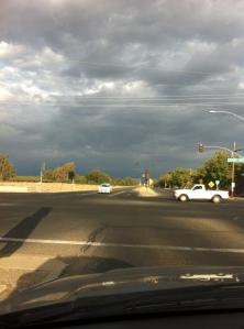 Thunderheads in the East, Visalia, California