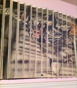 Wolverine, as interpreted by Joseph James Kawasaki.