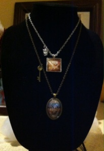 """Base and Bling Necklaces:  """"Know Thyself"""" and """"Faith"""""""