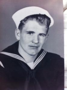 My favorite veteran:  Donald Lewis Pender, USN.