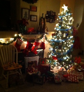 After Santa came (and left)
