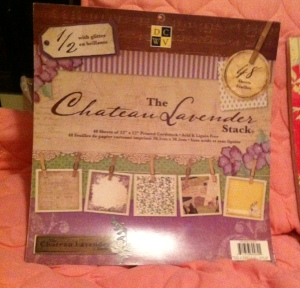 The Chateau Lavender Stack by DCWV